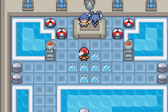 Pokemon Light Platinum GYM Leaders in Zhery