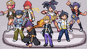 Post image for Pokemon Light Platinum Lauren League & Gym Leaders