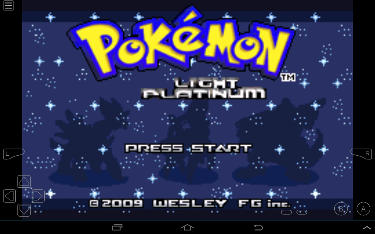 Pokemon Light Platinum Screenshot