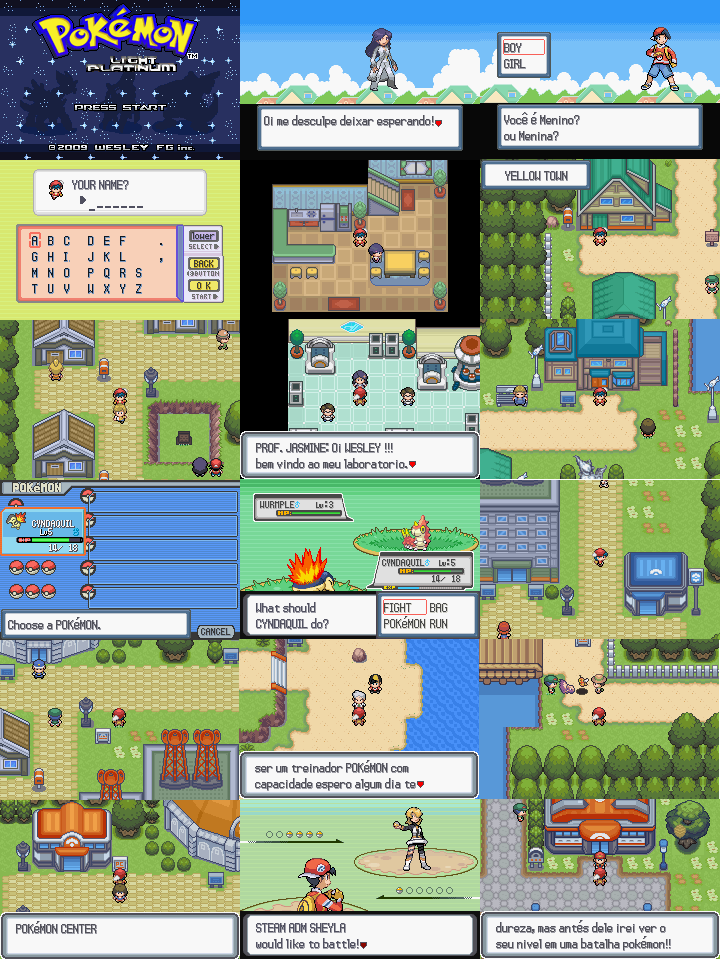 rom infomations hack name pokemon light platinum hack base pokemon