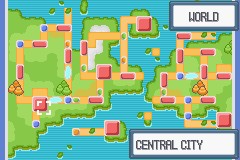 Pokemon Light Platinum Map