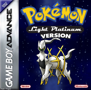 Pokemon Light Platinum Box Art