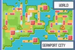 Pokemon Light Platinum Zhery City Map