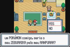 Pokemon Trading in Pokemon Light Platinum